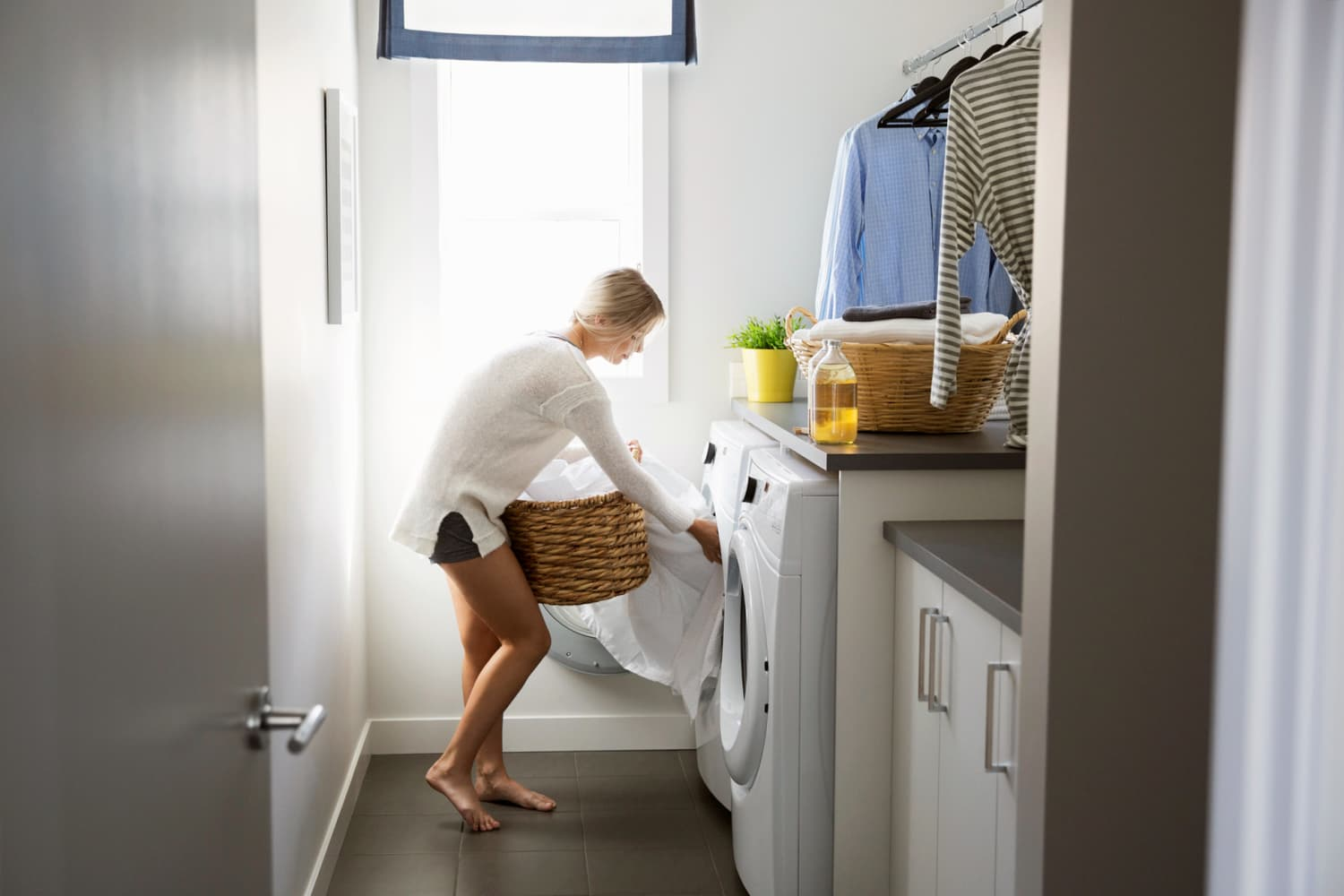 7 Laundry Hampers That Make the Most of Your Small Space