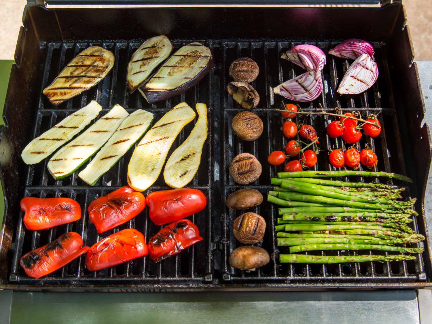 How To Grill Any Vegetable Kitchn