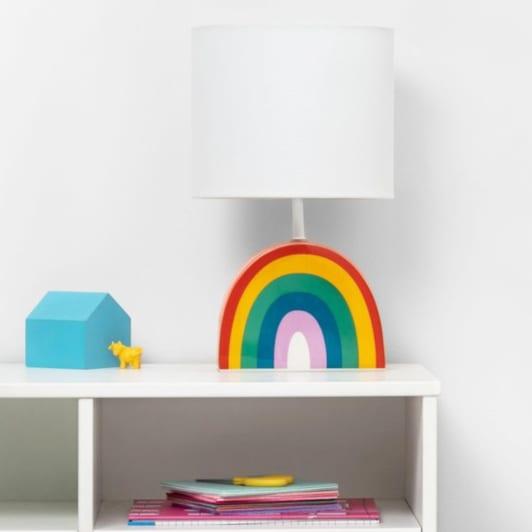 Rainbow Table Lamp