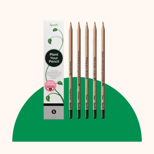 sprout & grow pencils