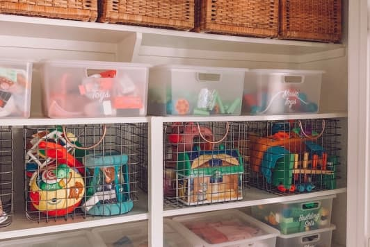 This $100 Storage Closet Makeover Comes with Brilliant Organizing Tips
