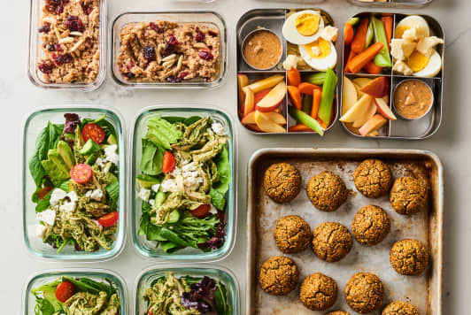 How I Prep a Week of Trader Joe's Meals In 90 Minutes