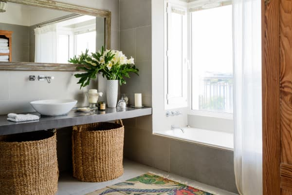 My Greek Grandmother's Secret to an Always-Clean Bathroom