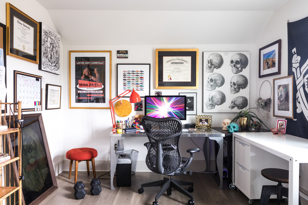 This Home Decor Item Is More Popular than Plants for Home Offices, According to One Study