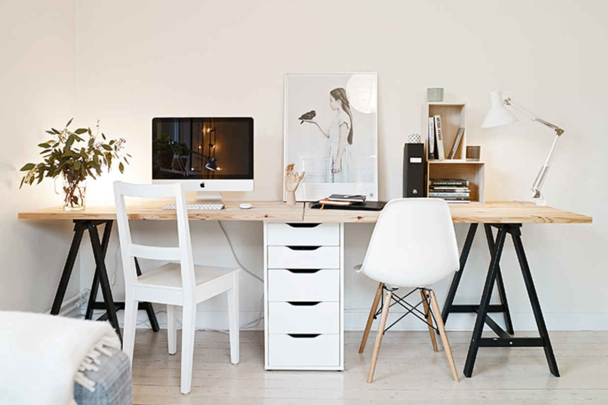 15 DIY Desk Ideas to Make Working from Home a Breeze