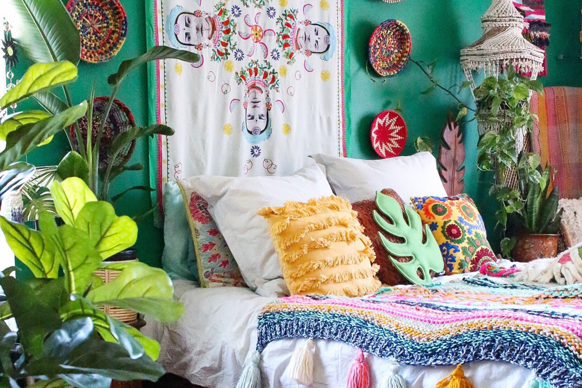 Bring Your Bedroom Down to Earth with These Boho Ideas