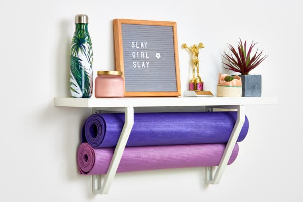 This $30 IKEA Find Helped Me Pack a Whole Home Gym into 2 Square Feet
