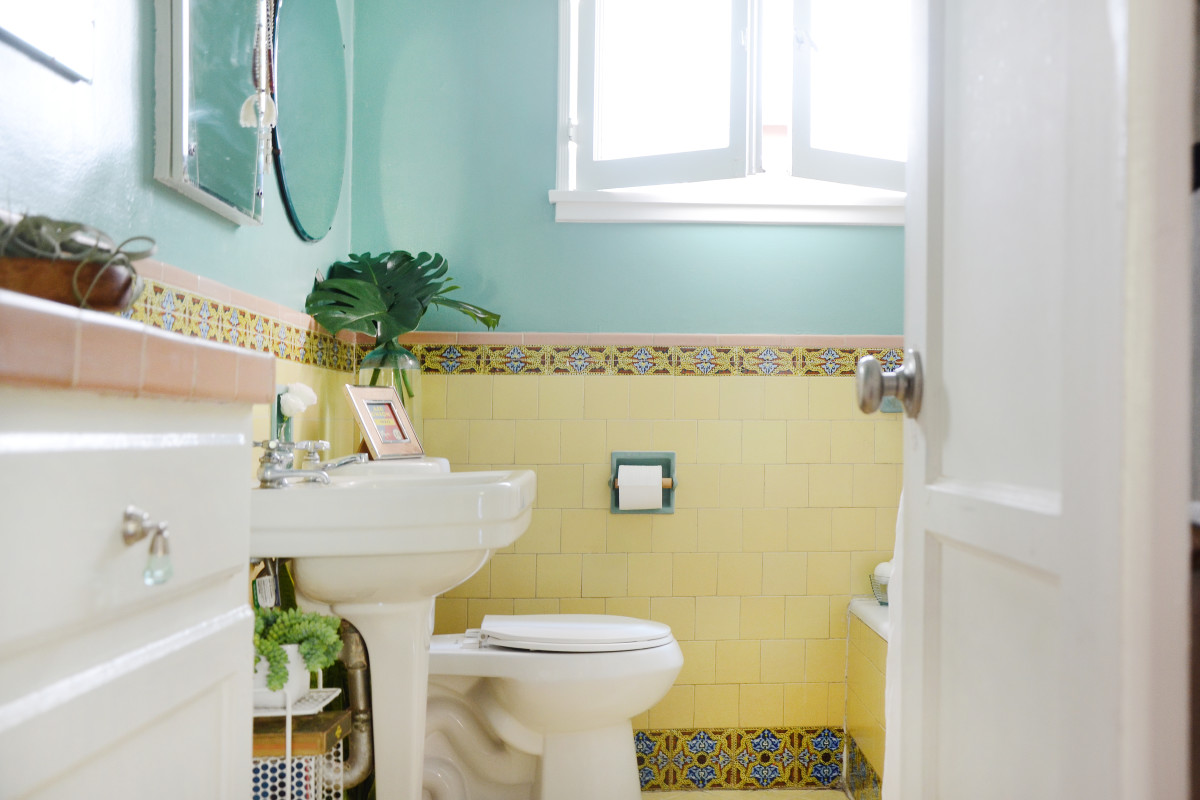 If You Want a REALLY Clean Bathroom, You'll Need to Grab a Common Tool