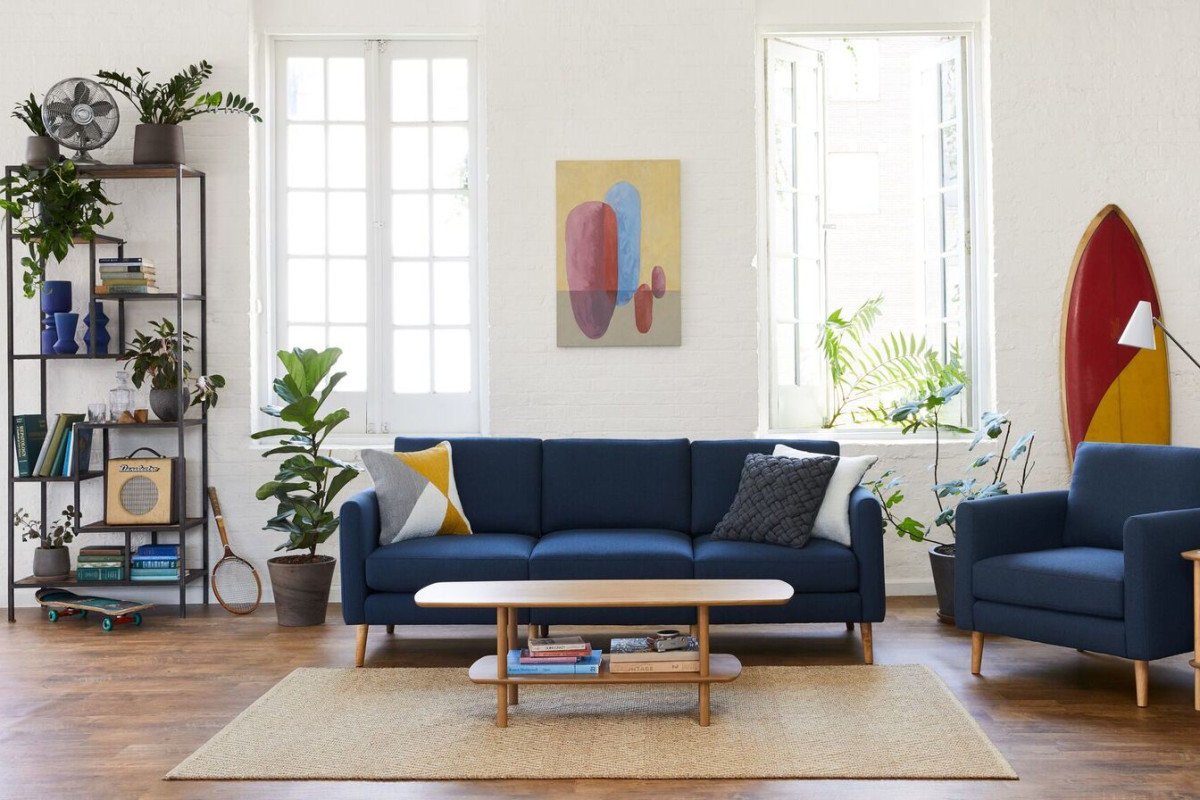 I Can't Stop Talking About My Burrow Sofa — And It's on Sale!