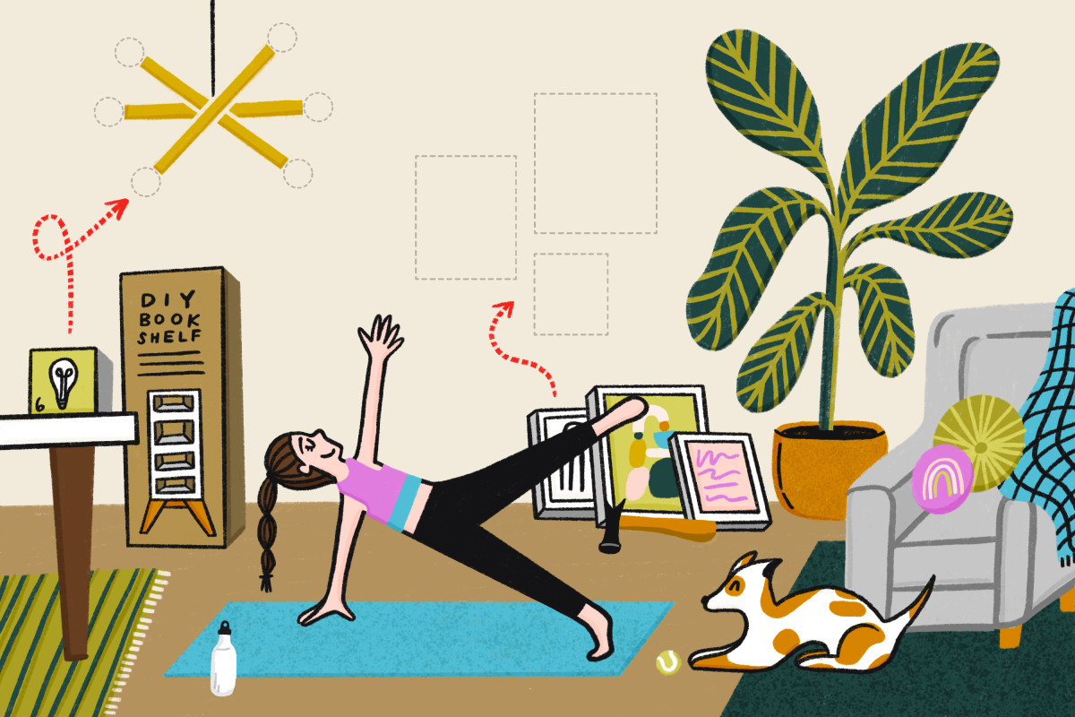 The Yoga Pose You'd Most Benefit from, According to Your Enneagram Type