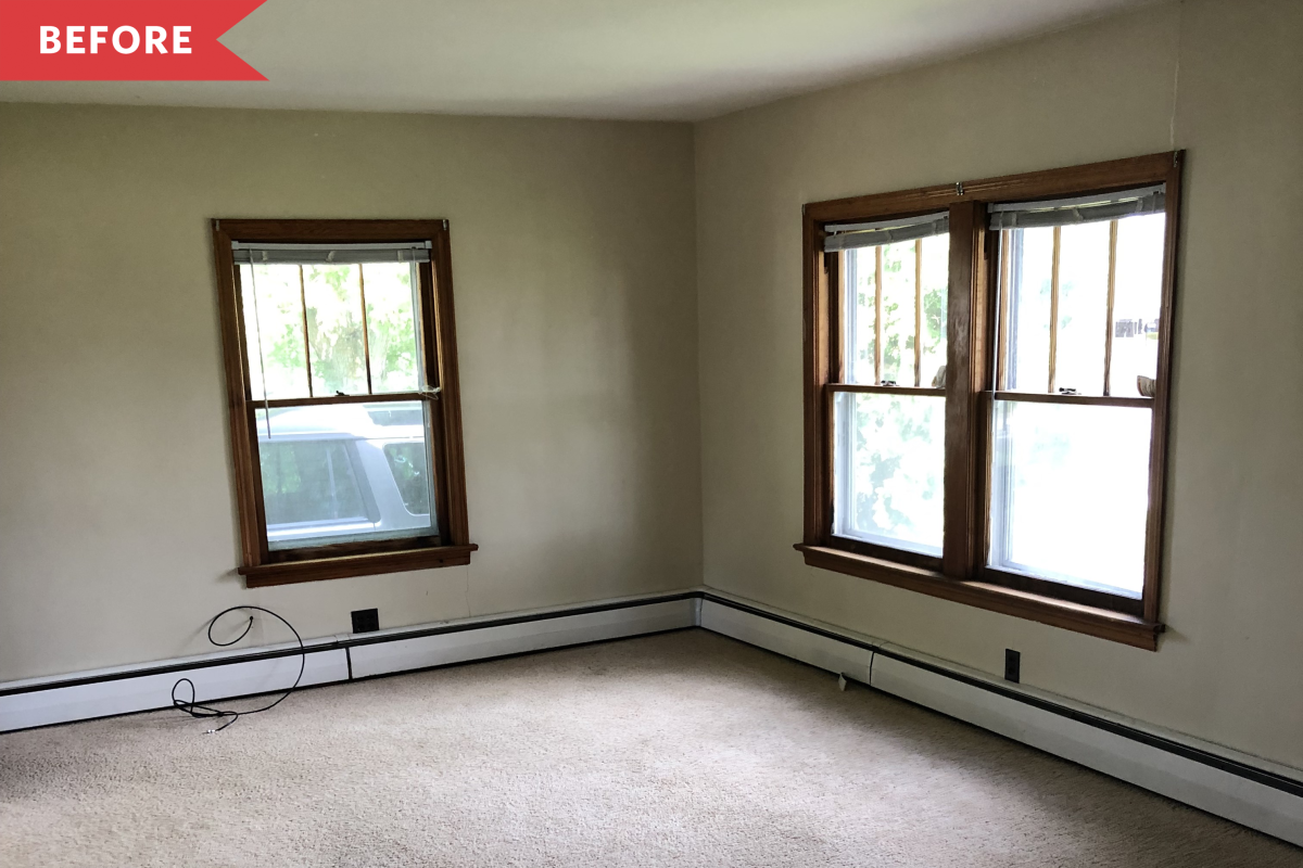 Before and After: Smart Swaps Make This 1943 Living Room Feel Twice as Big