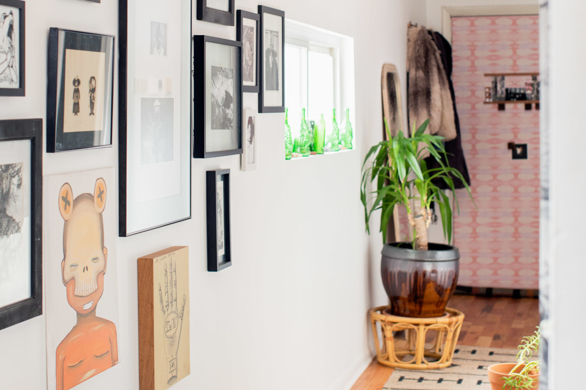 The Key to Sprucing up Your Hallway May Be Hiding in the Back of Your Closet