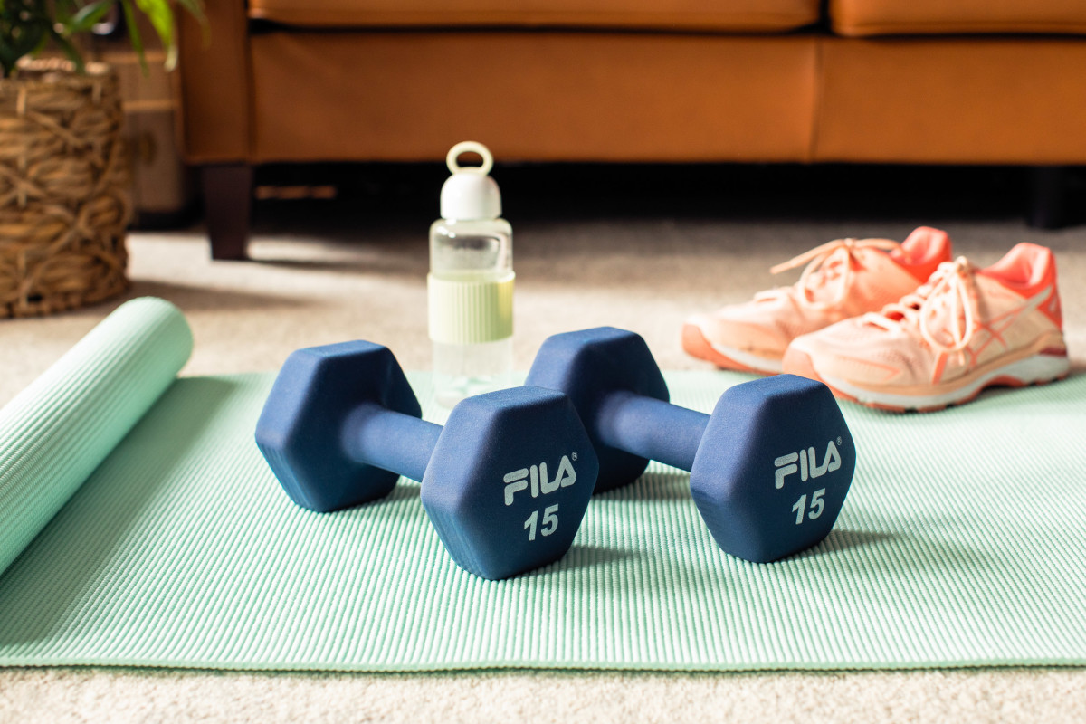 The $1 Item That Made Actually Doing My at-Home Workout That Much Easier