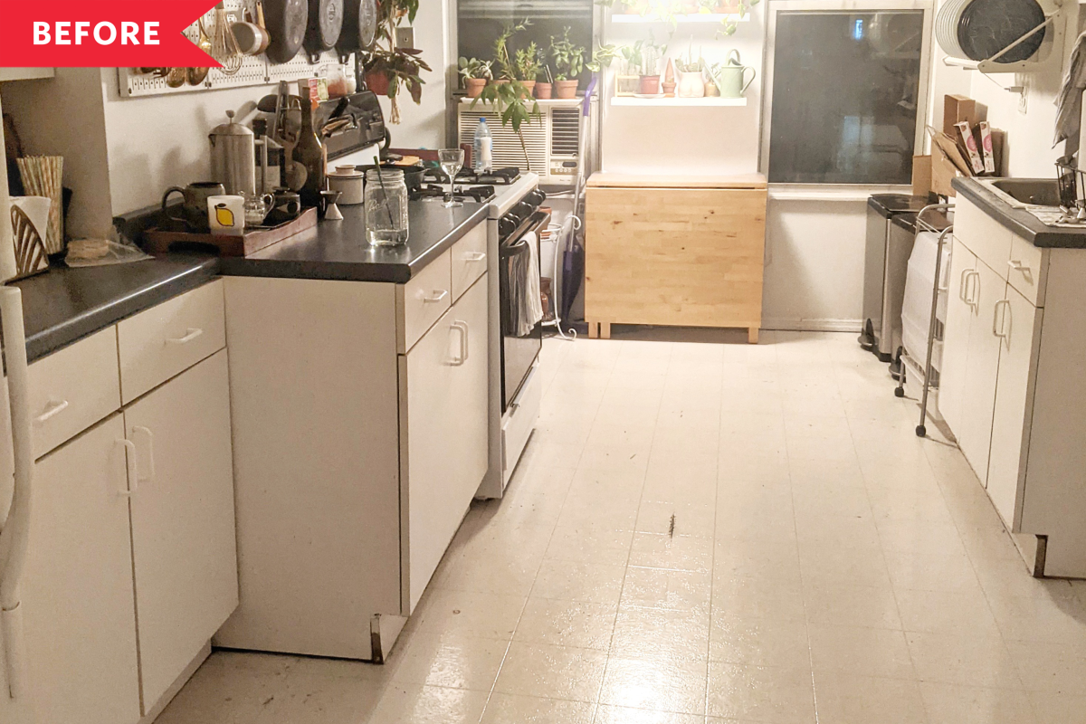 Before and After: 4 Steps and $300 Later, This Kitchen Looks Brand New