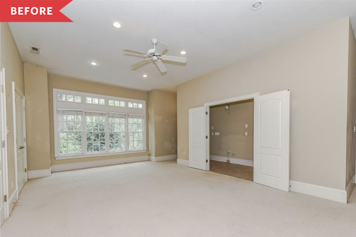 Before and After: A Beige-on-Beige Living Room Gets an Energizing Transformation