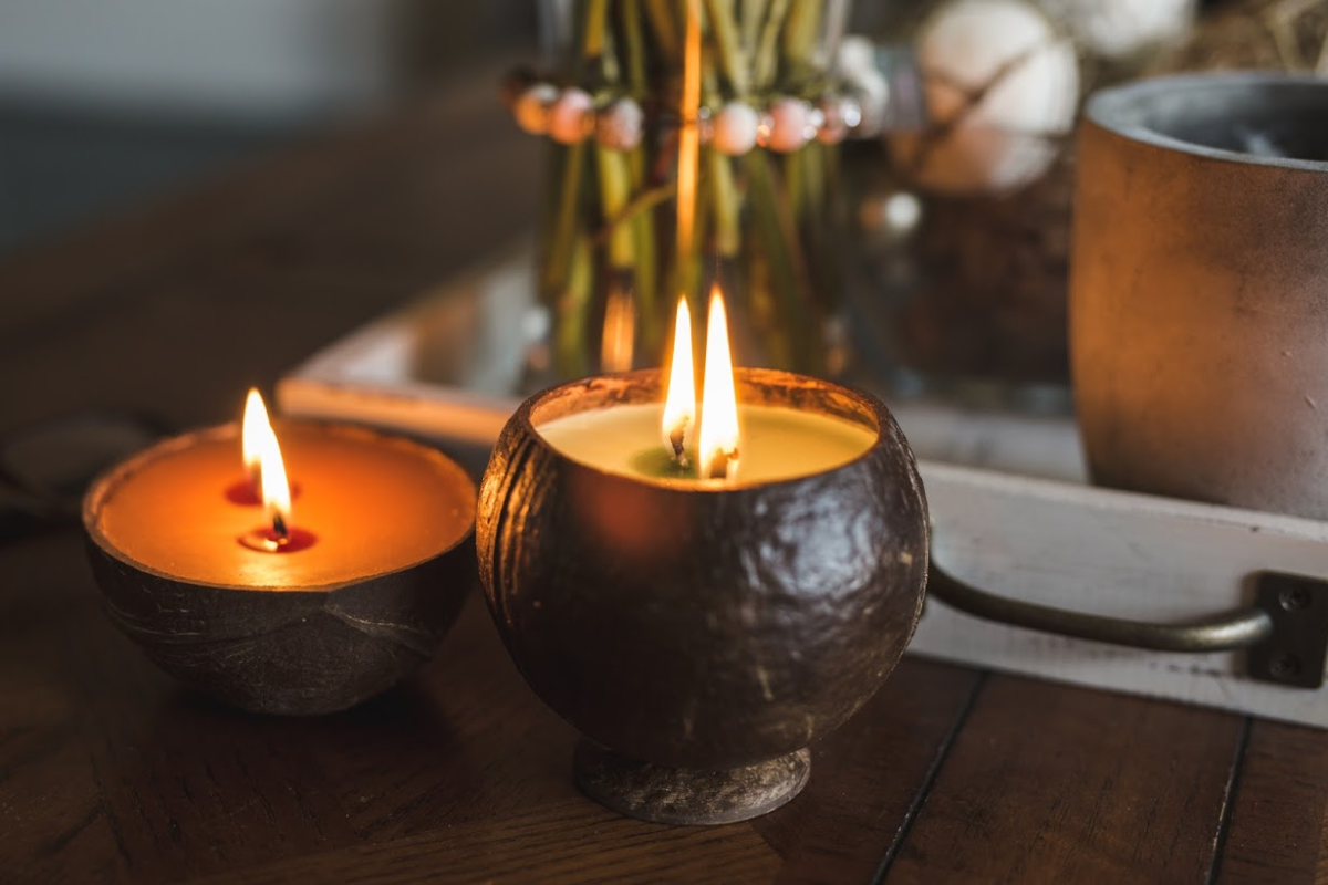 These New-to-Me Upcycled Coconut Candles Put My Store-Bought Favorites to Shame