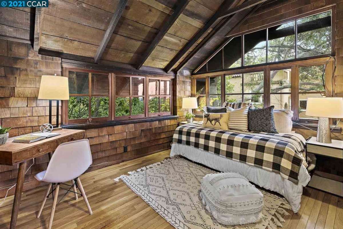 This Whimsical Hideaway for Sale in Berkeley Comes with an ADU