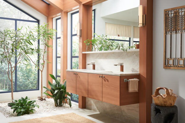 These Faucets Are Inspired By Frank Lloyd Wright's Most Famous Houses