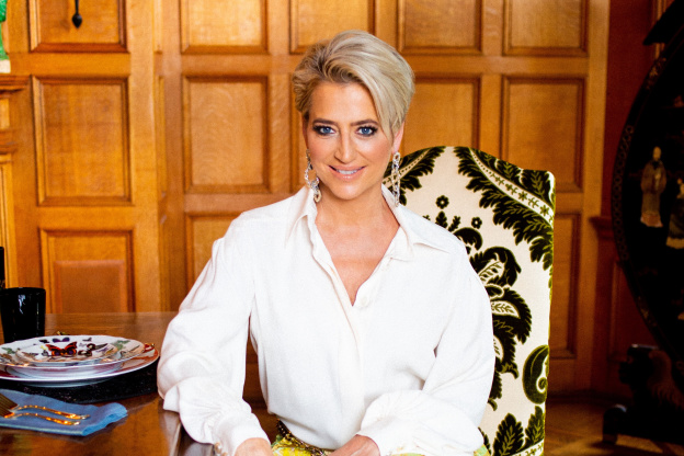 Dorinda Medley's Berkshires Kitchen Has the Spice Rack to End All Spice Racks