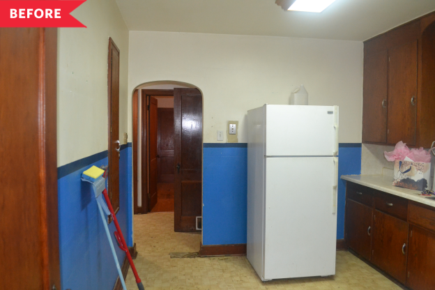 Before and After: Smart, Small Fixes Transform a Barely-Functional Kitchen for $550