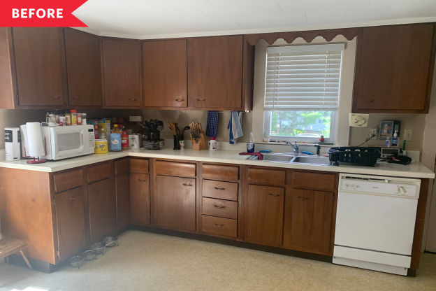 Before and After: This Remodel Includes an Unrecognizable Kitchen Refresh