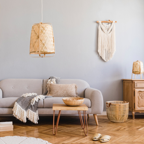 12 Surprising Rattan Accents to Add a Bit of Boho to Any Space