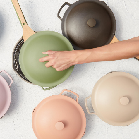 The Internet-Famous Multipurpose Pan That's *Always* Selling Out Is $30 Off Right Now
