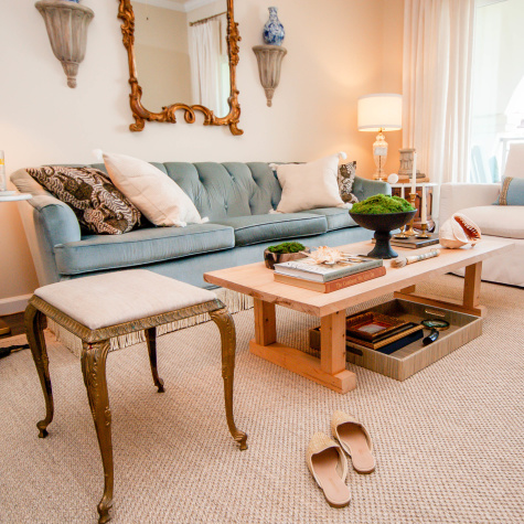 A Renter Started with Only Three Furniture Pieces When She Moved into This Apartment