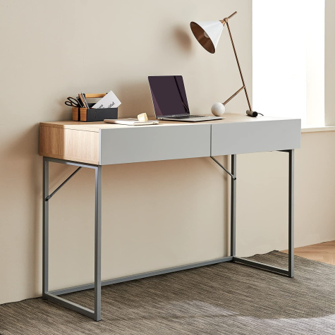 This Seriously Stylish Amazon Desk Is Giving Us Major West Elm Vibes
