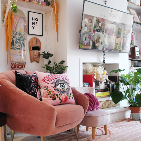 A South London Home Shows How to Have Fun with Decorating