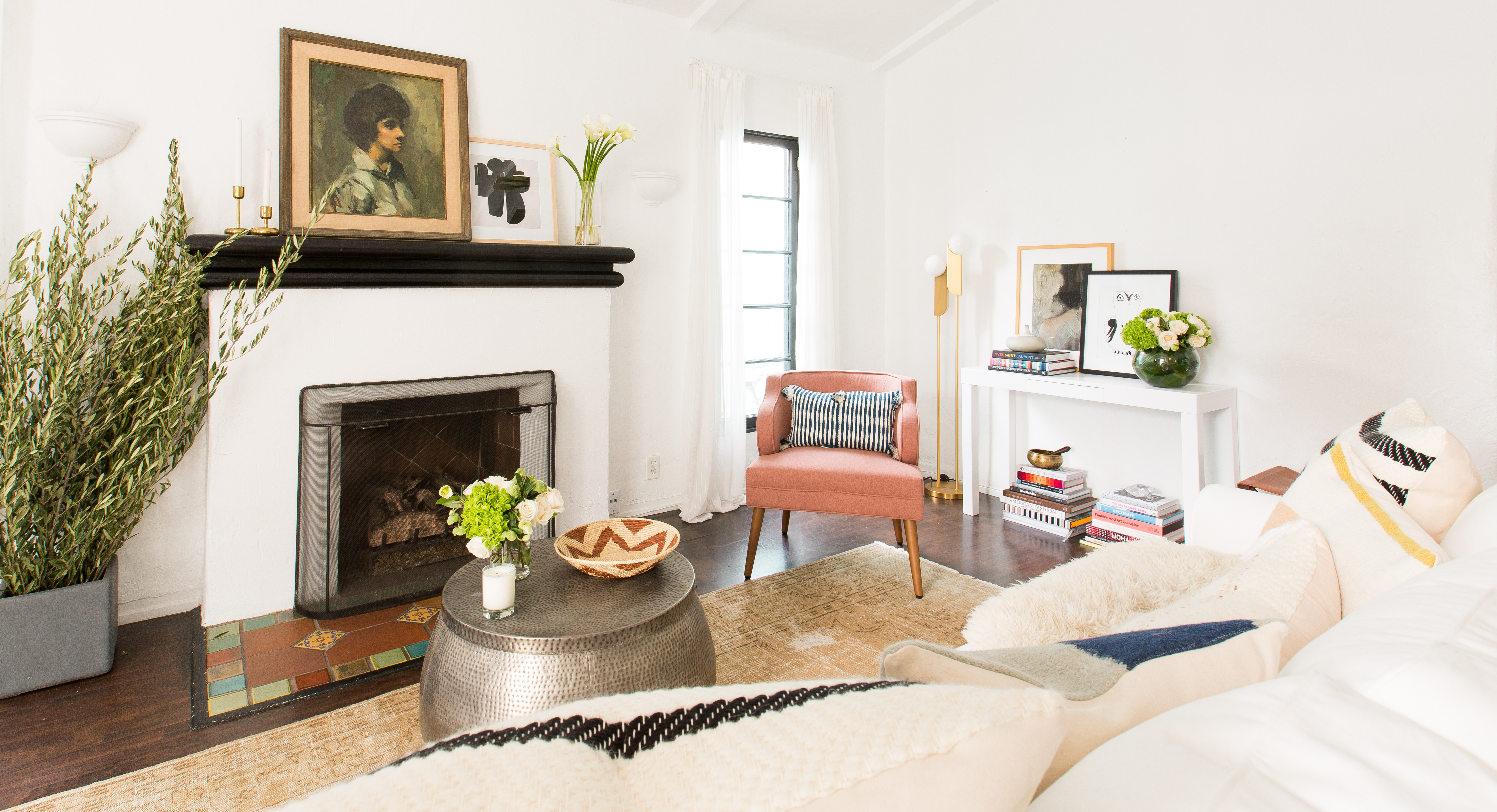 The 24 Best Mantel Ideas How To Decorate A Fireplace Mantel Apartment Therapy