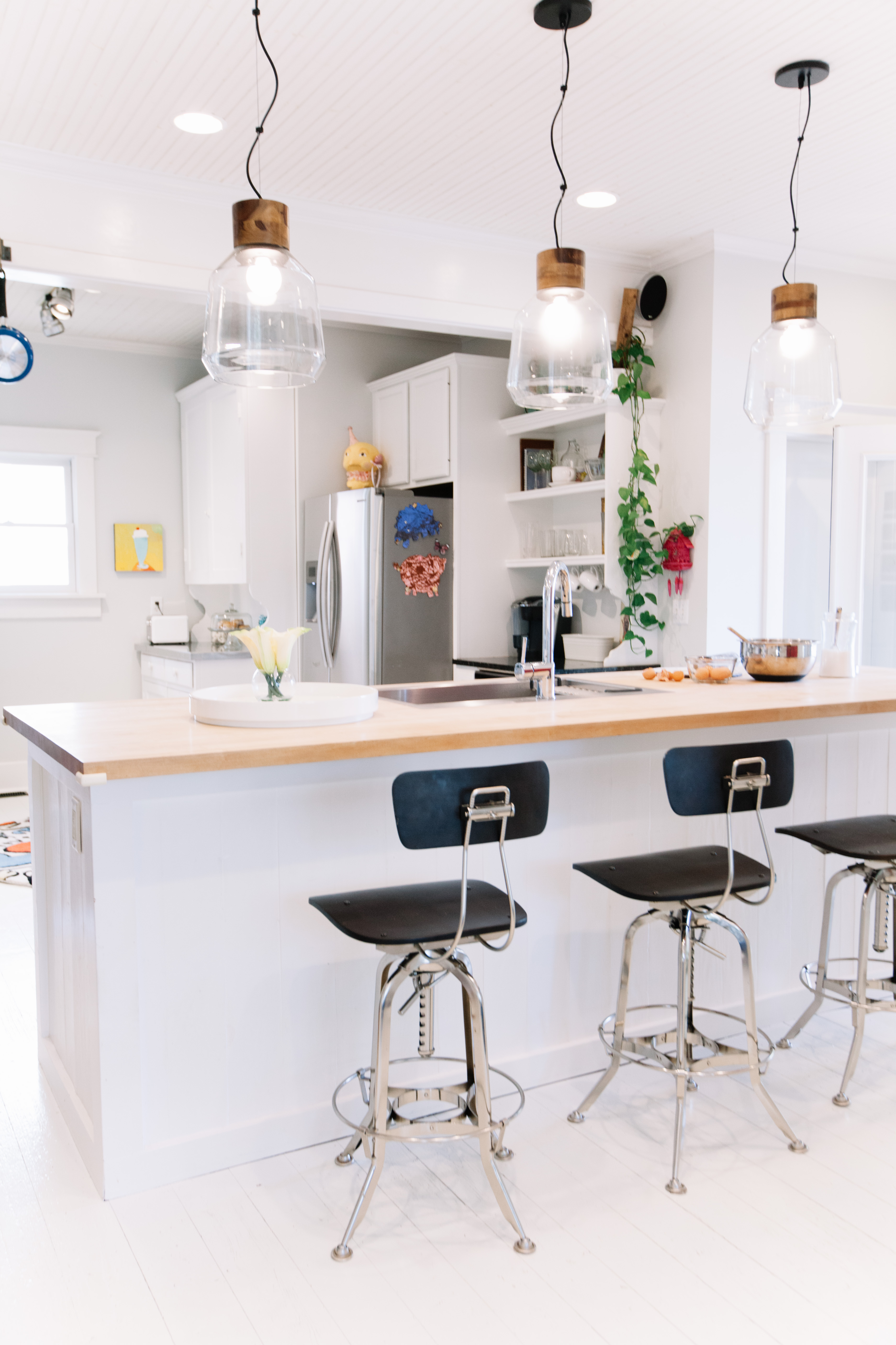 9 Kitchen Island Breakfast Bar Ideas for Countertop Seating With ...