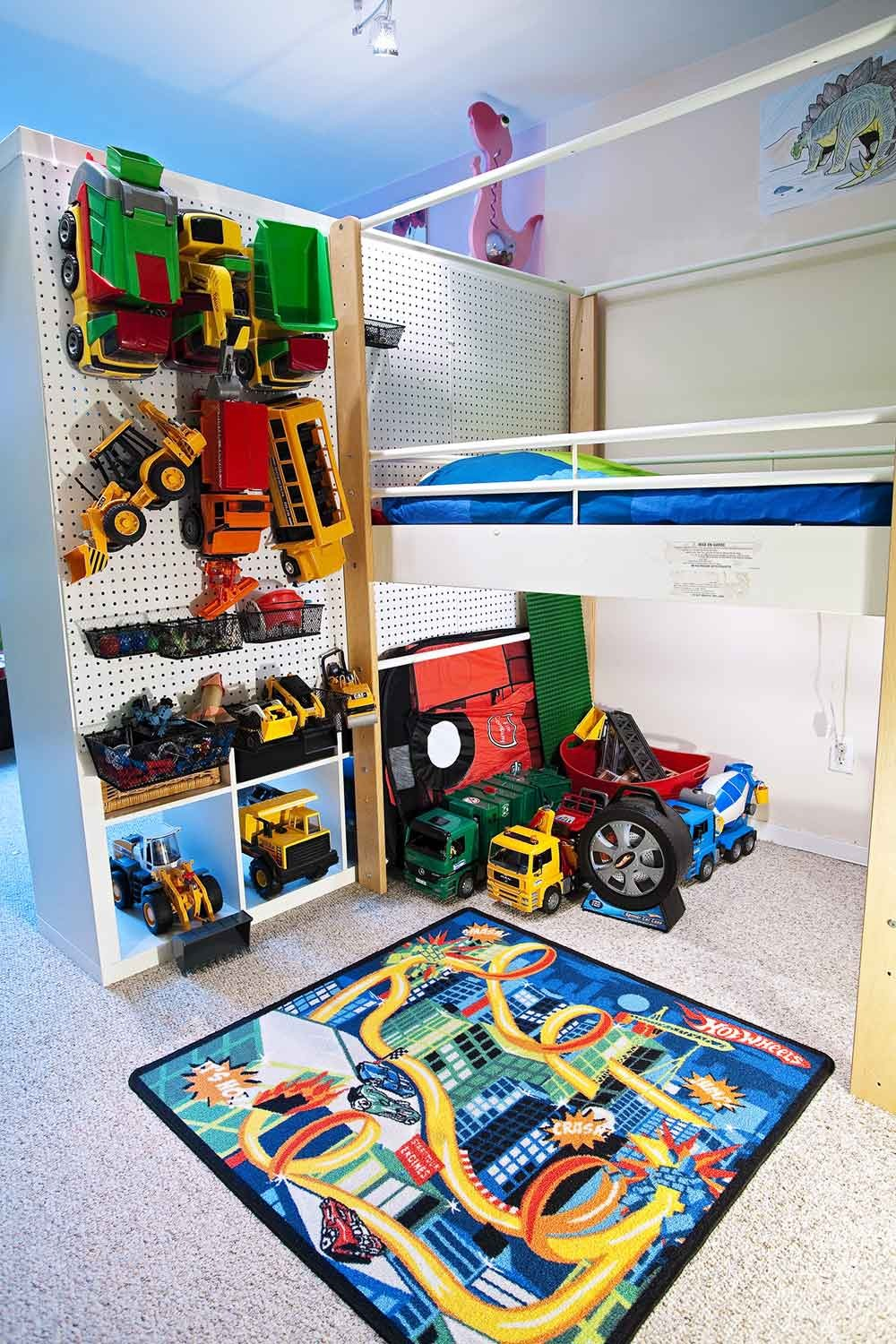 An Updated Classic Pegboard In Kids Rooms Apartment Therapy