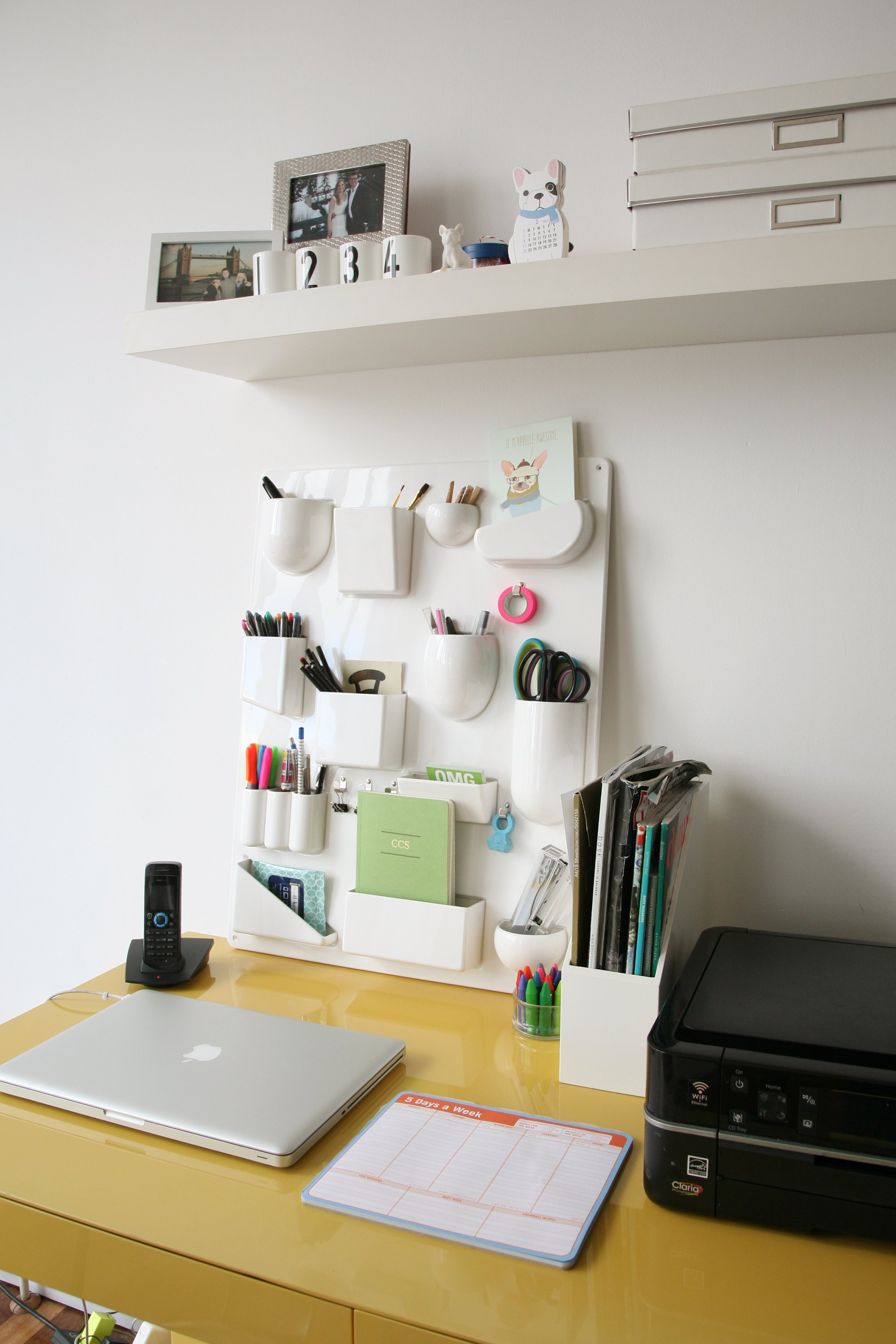 The 35 Best Desk Organization Ideas Ever Apartment Therapy
