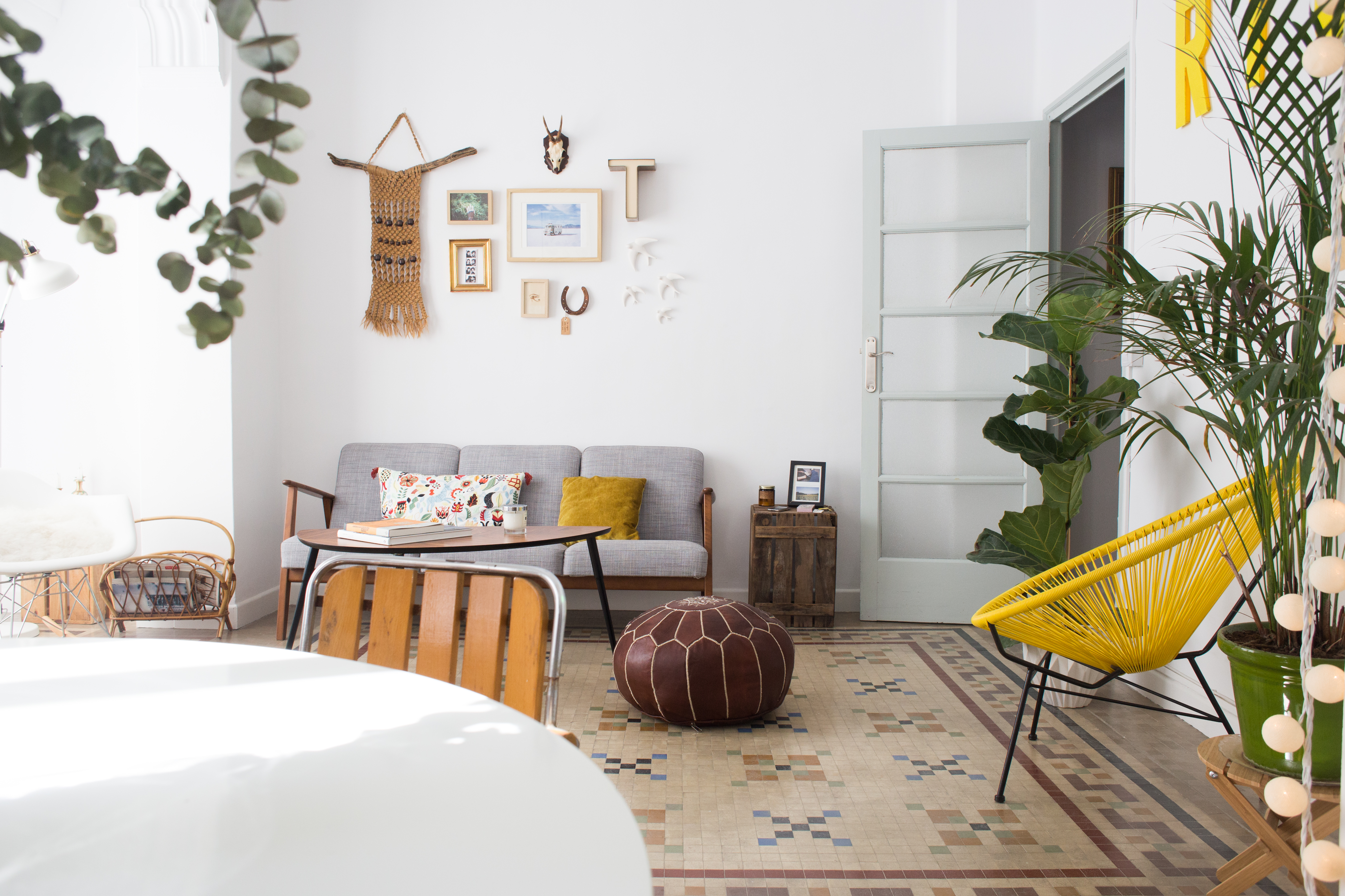 Forget Plain White Tiles, These 8 Rooms Will Make You Crave Bolder Floors