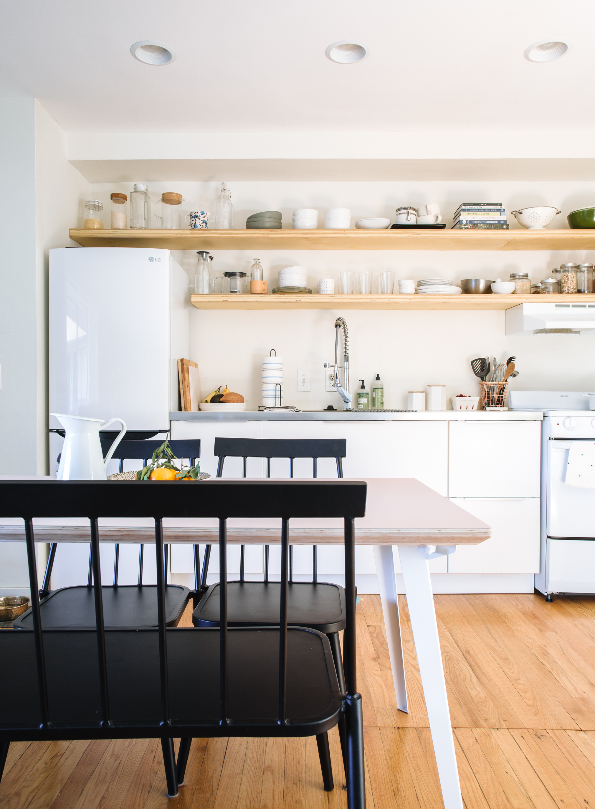 Traditional Upper Kitchen Cabinet Alternatives Apartment Therapy