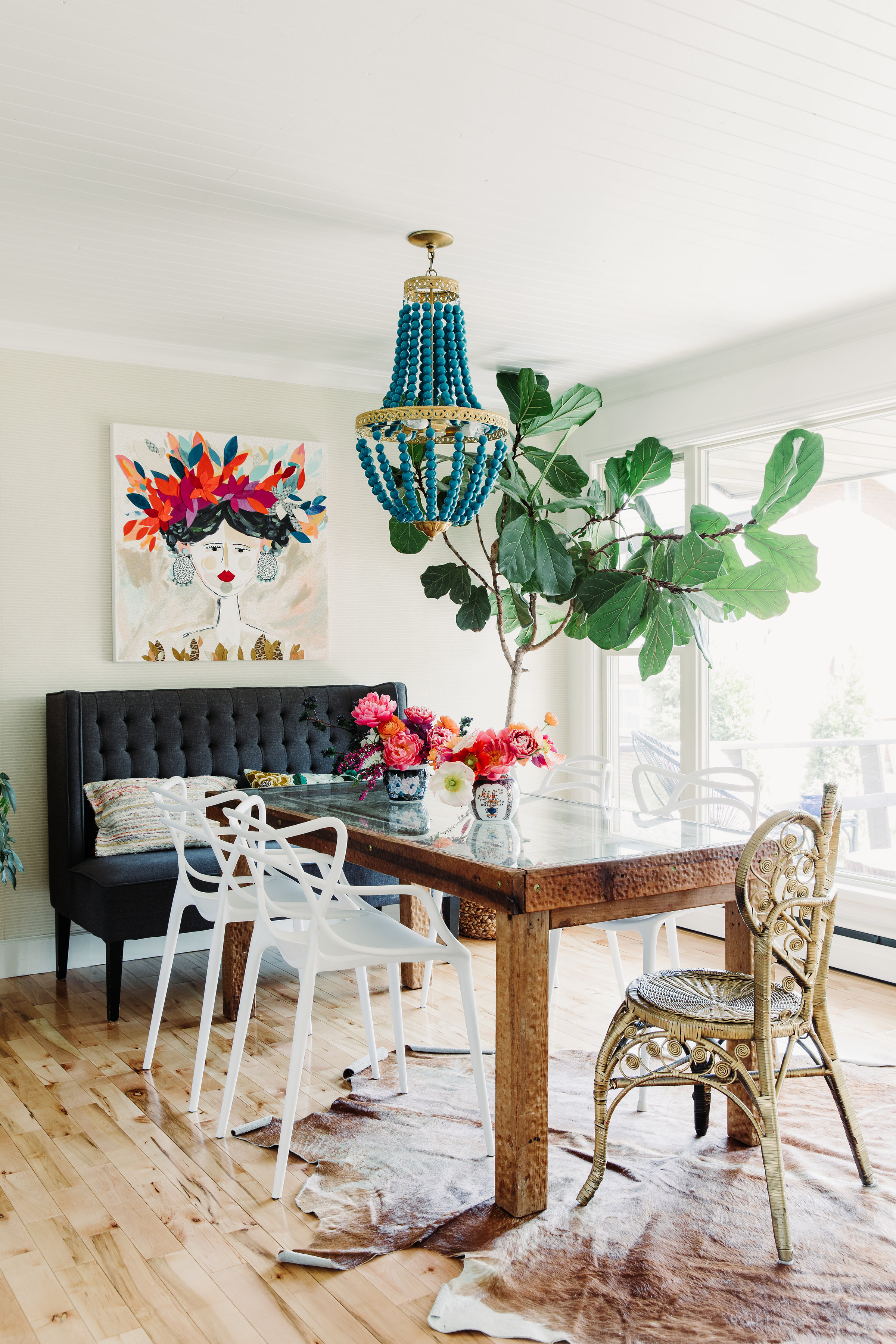 How To Decorate With Mismatched Dining Chairs Apartment Therapy