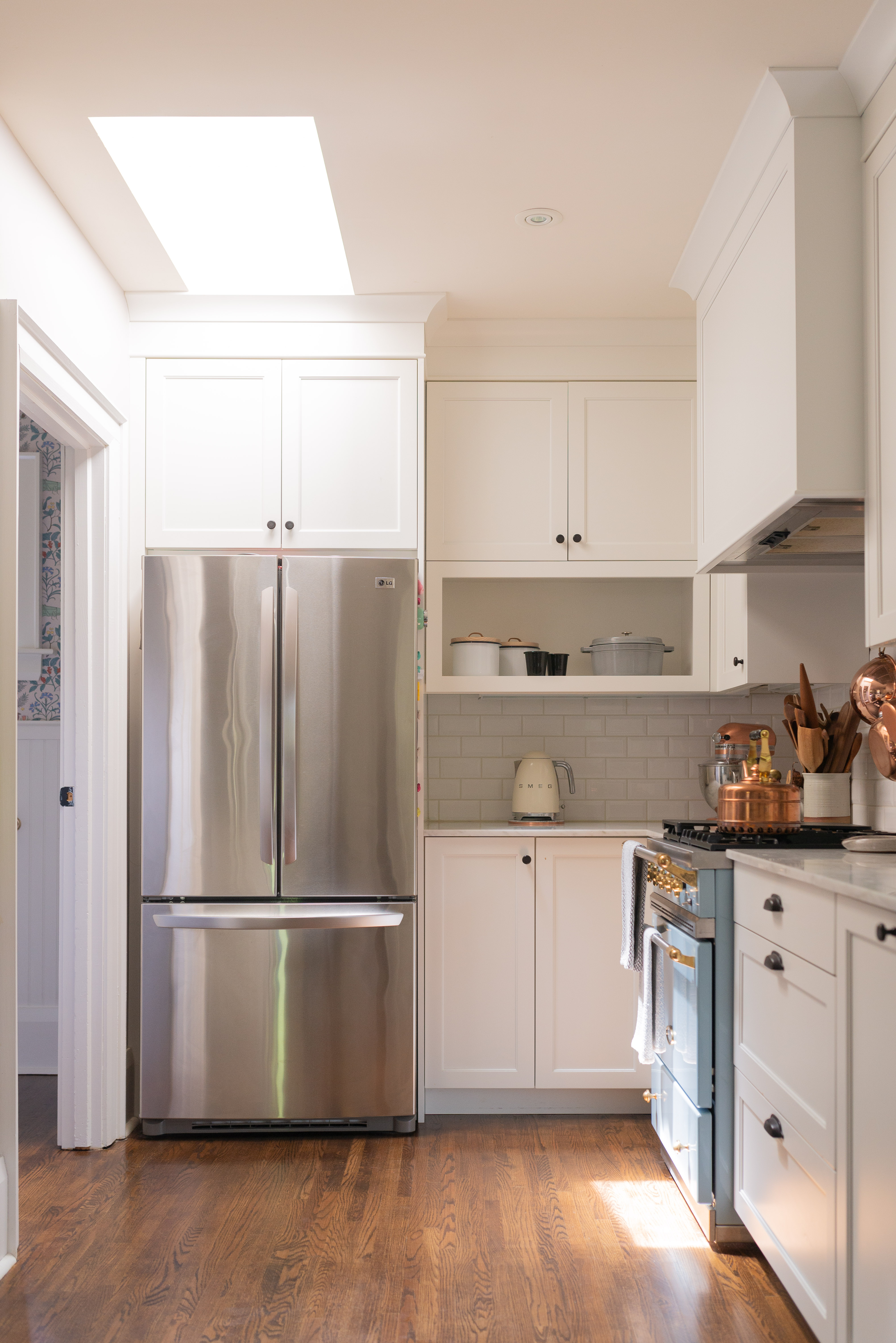 Kitchen Cabinet Soffit Space Ideas Apartment Therapy