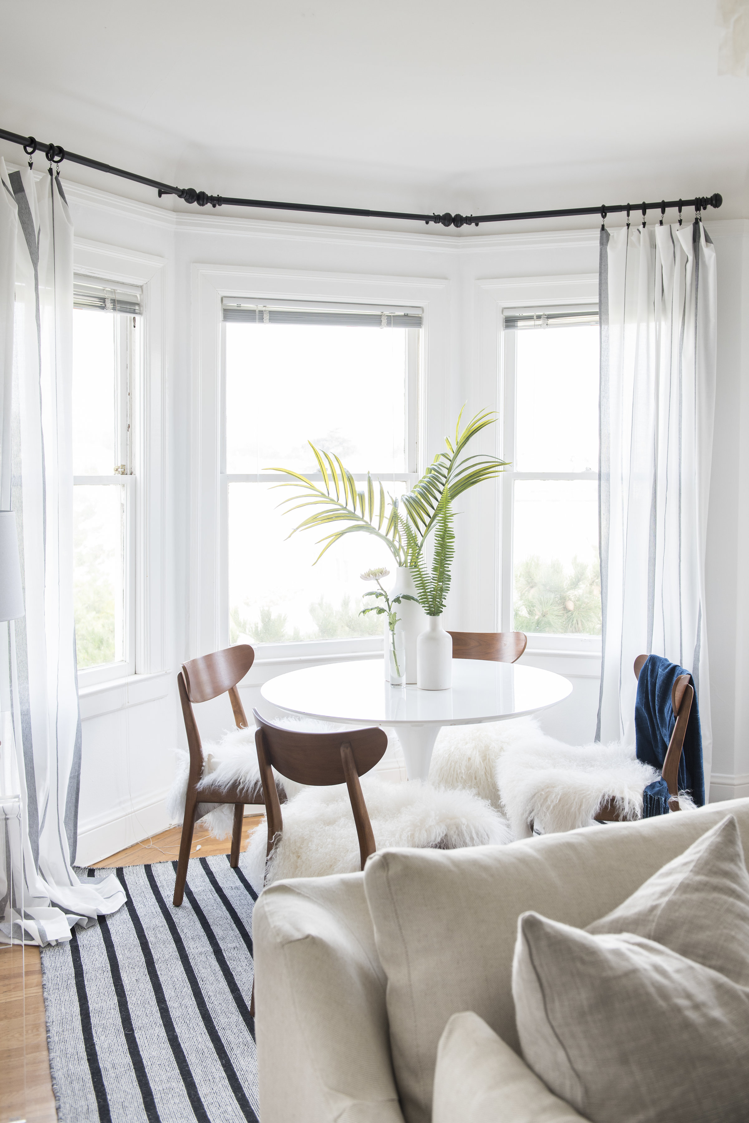 Stylish Curtain & Window Treatment Ideas  Apartment Therapy