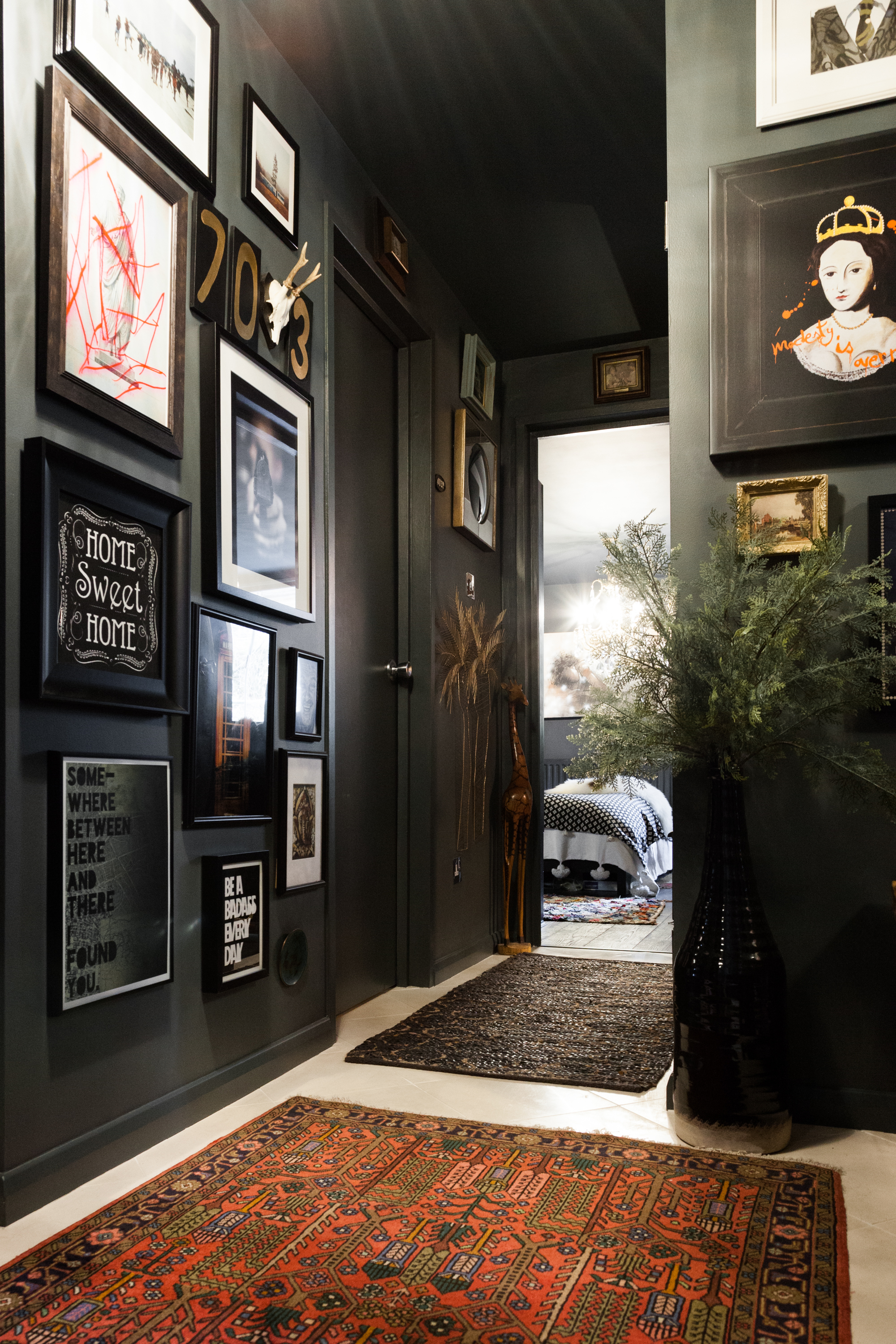 40 Best Black Room Ideas How To Use Black Paint In Decorating Apartment Therapy