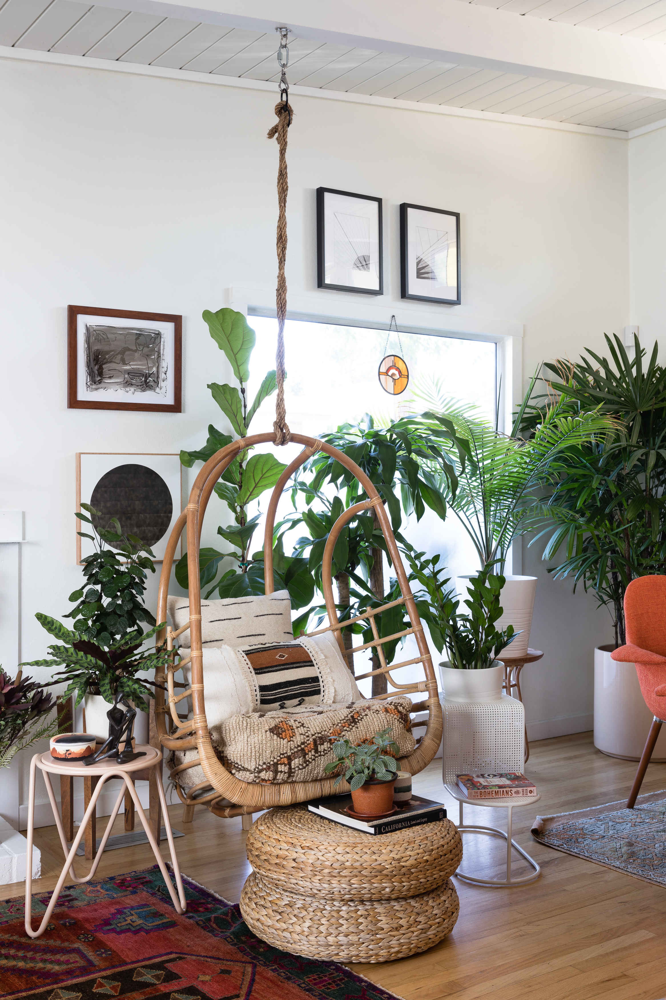 Bohemian Jungle Style Plant Filled L A Home Tour Apartment Therapy