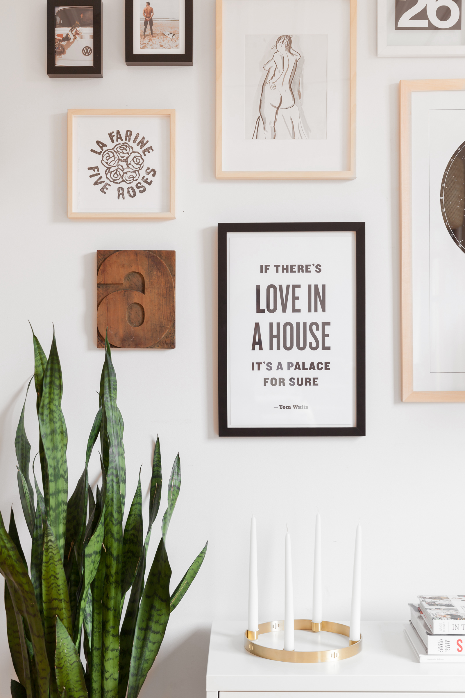 How to Create a Gallery Wall on a Budget   Apartment Therapy