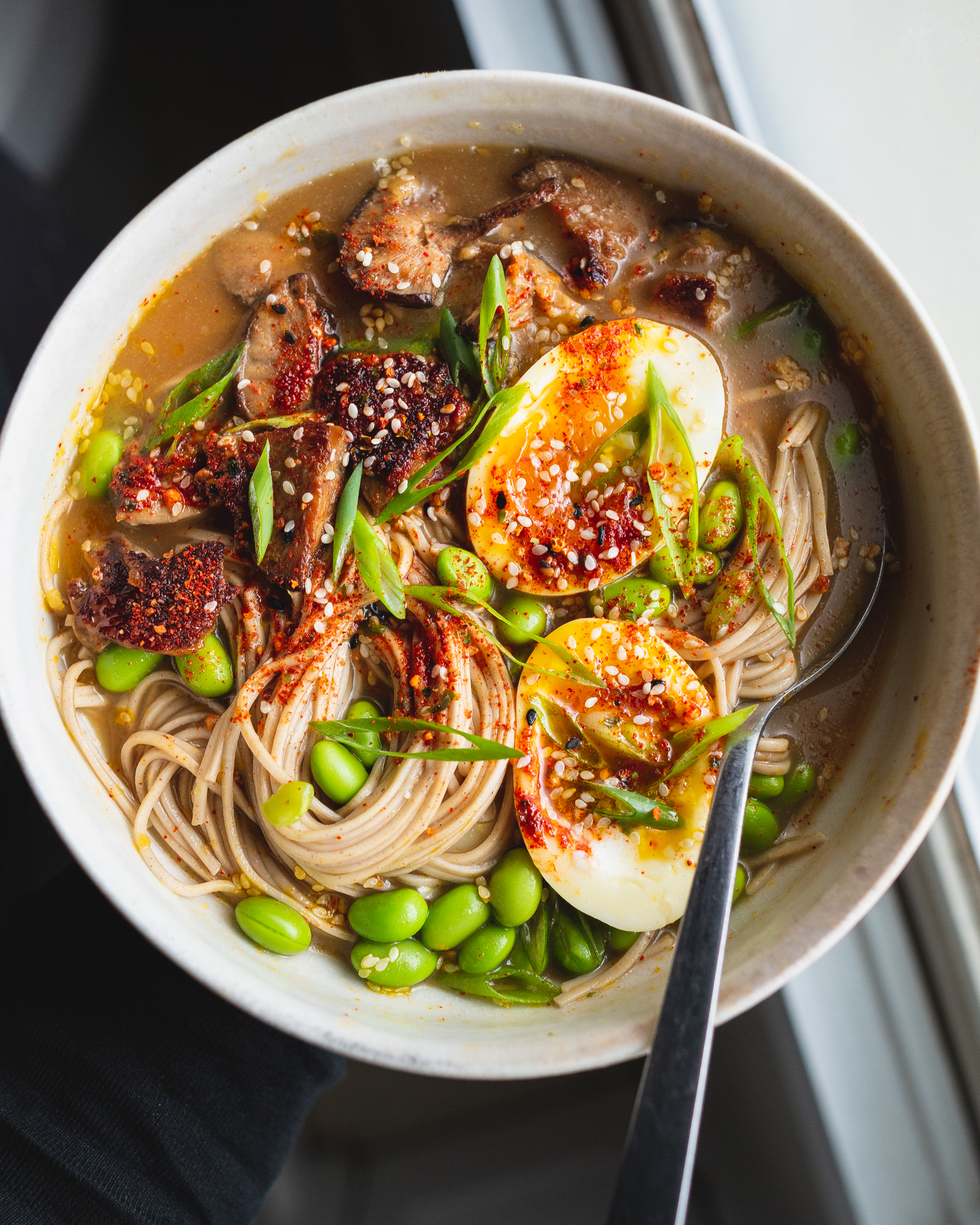Miso-Butter Mushrooms Upgrade Everything They Touch (Starting with This Broth Bowl)