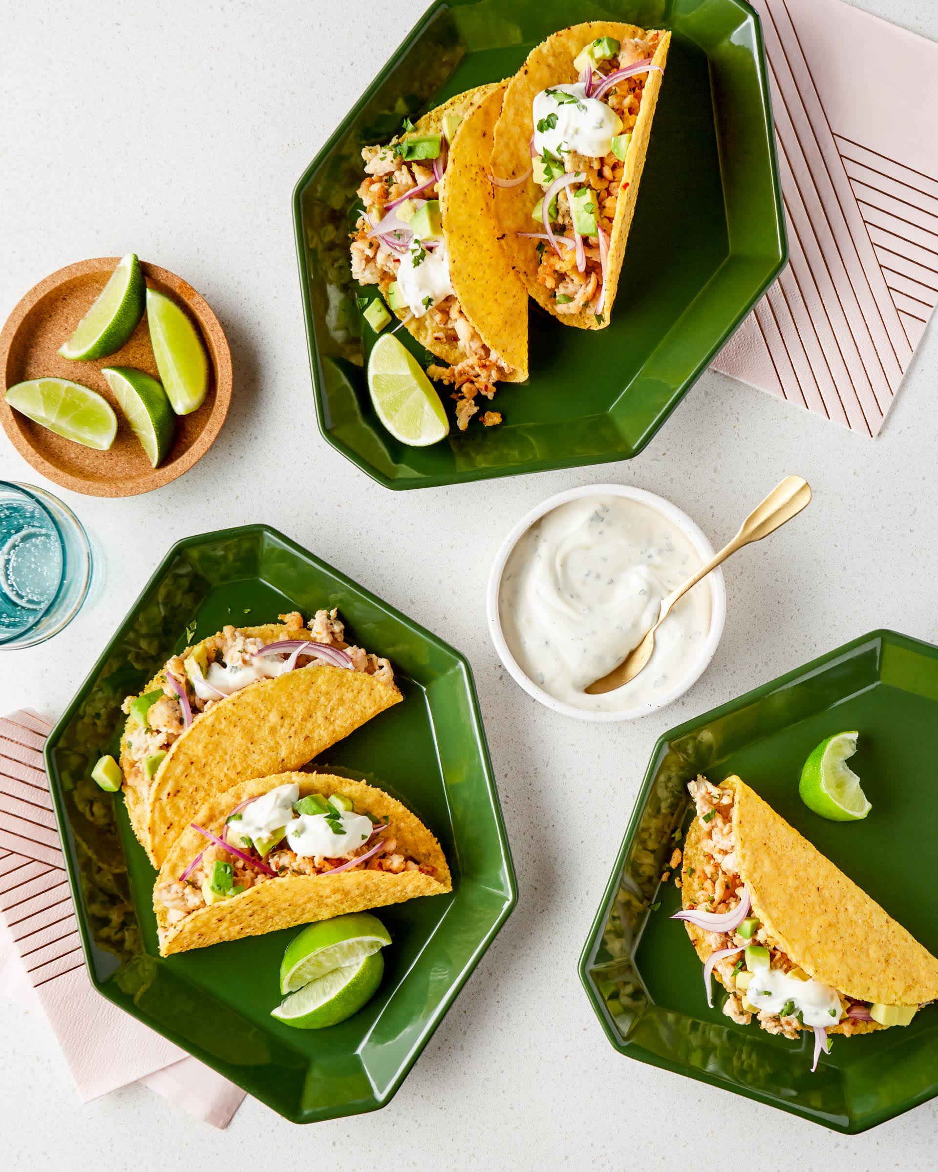 SPONSORED POST: Recipe: Ranch Chicken Tacos