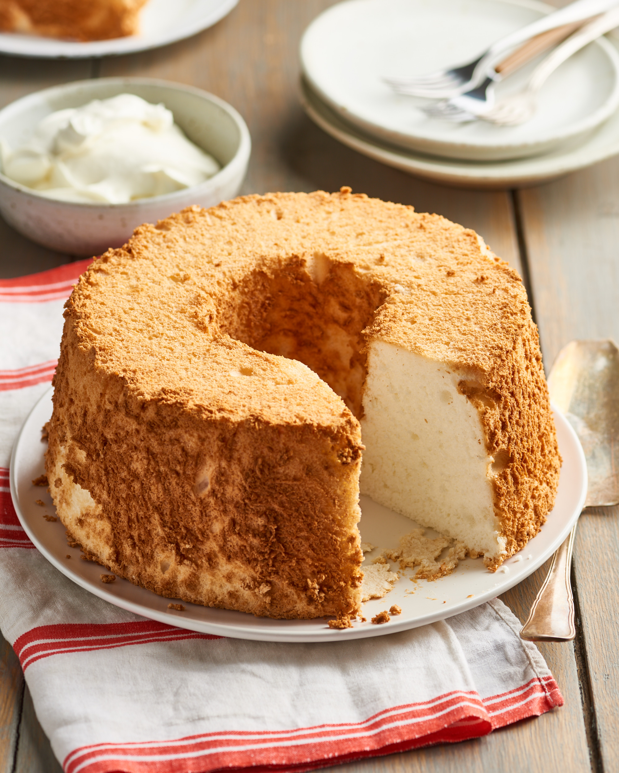 How To Make a Classic Angel Food Cake That Comes Out Perfectly Every Time