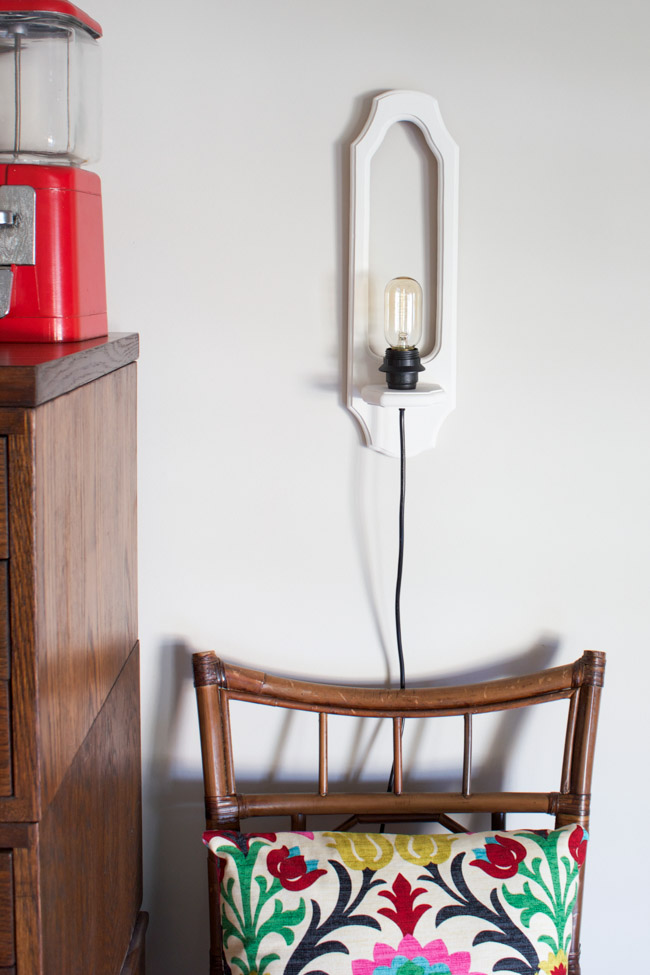10 Completely Clever Ways to Transform Vintage Objects Into Lighting