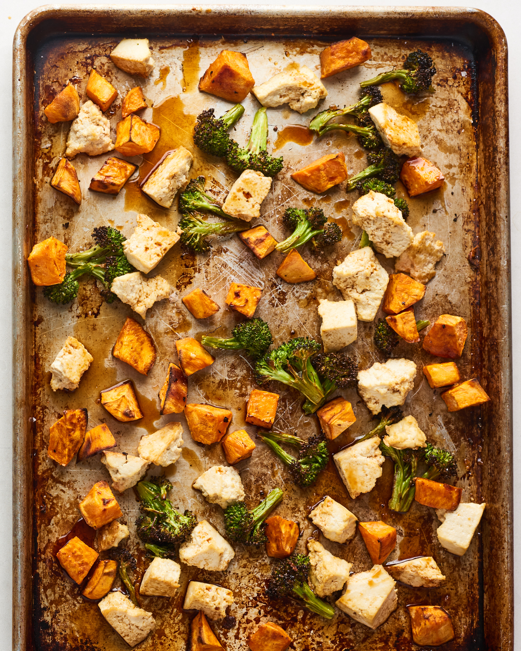 This Sheet Pan Stir-Fry Is the Tastiest, Easiest Way to Cook Tofu Tonight