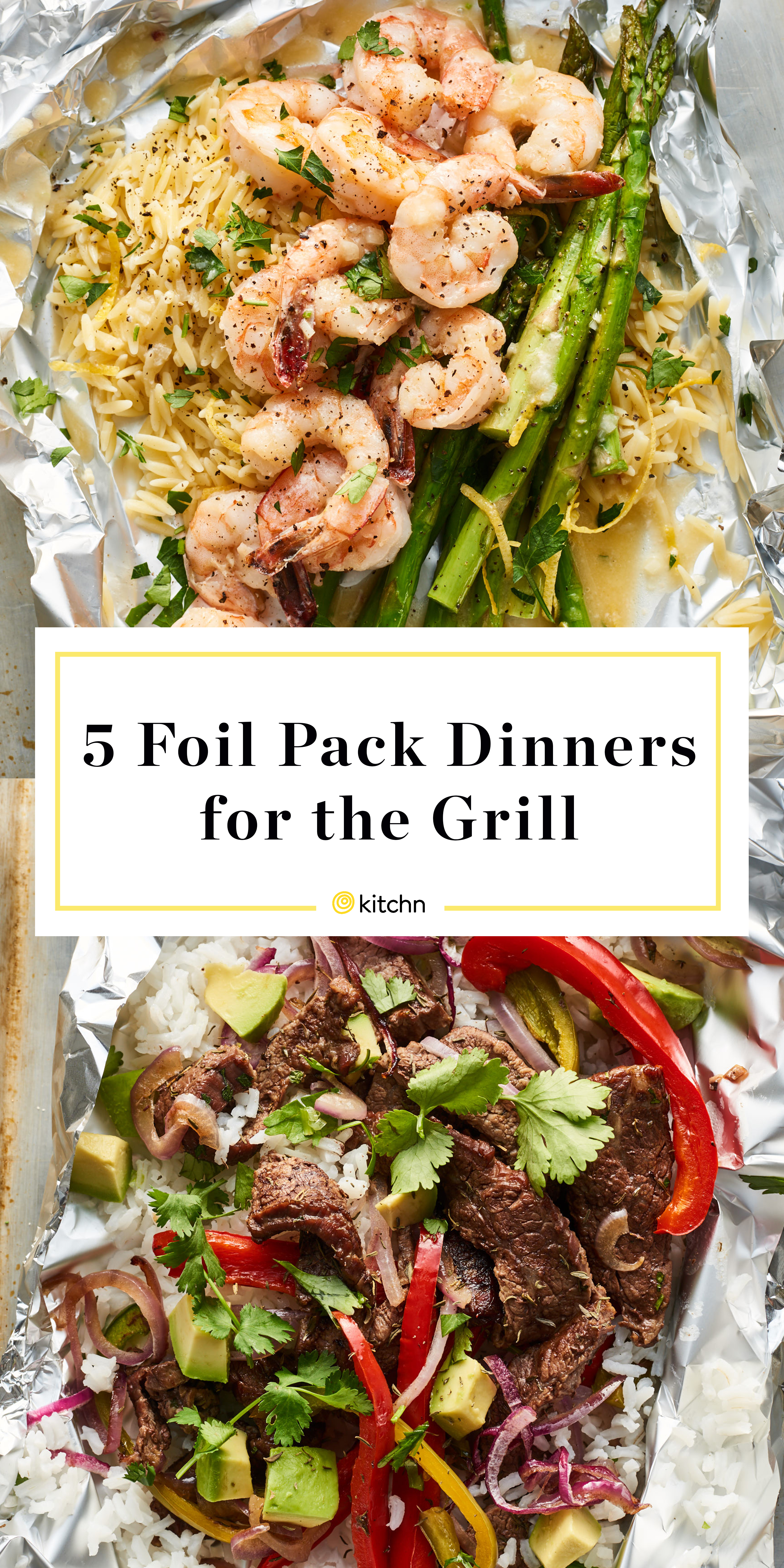 5 Foil Packet Grilling Recipes Easy Meals To Grill In A Foil Packet Kitchn