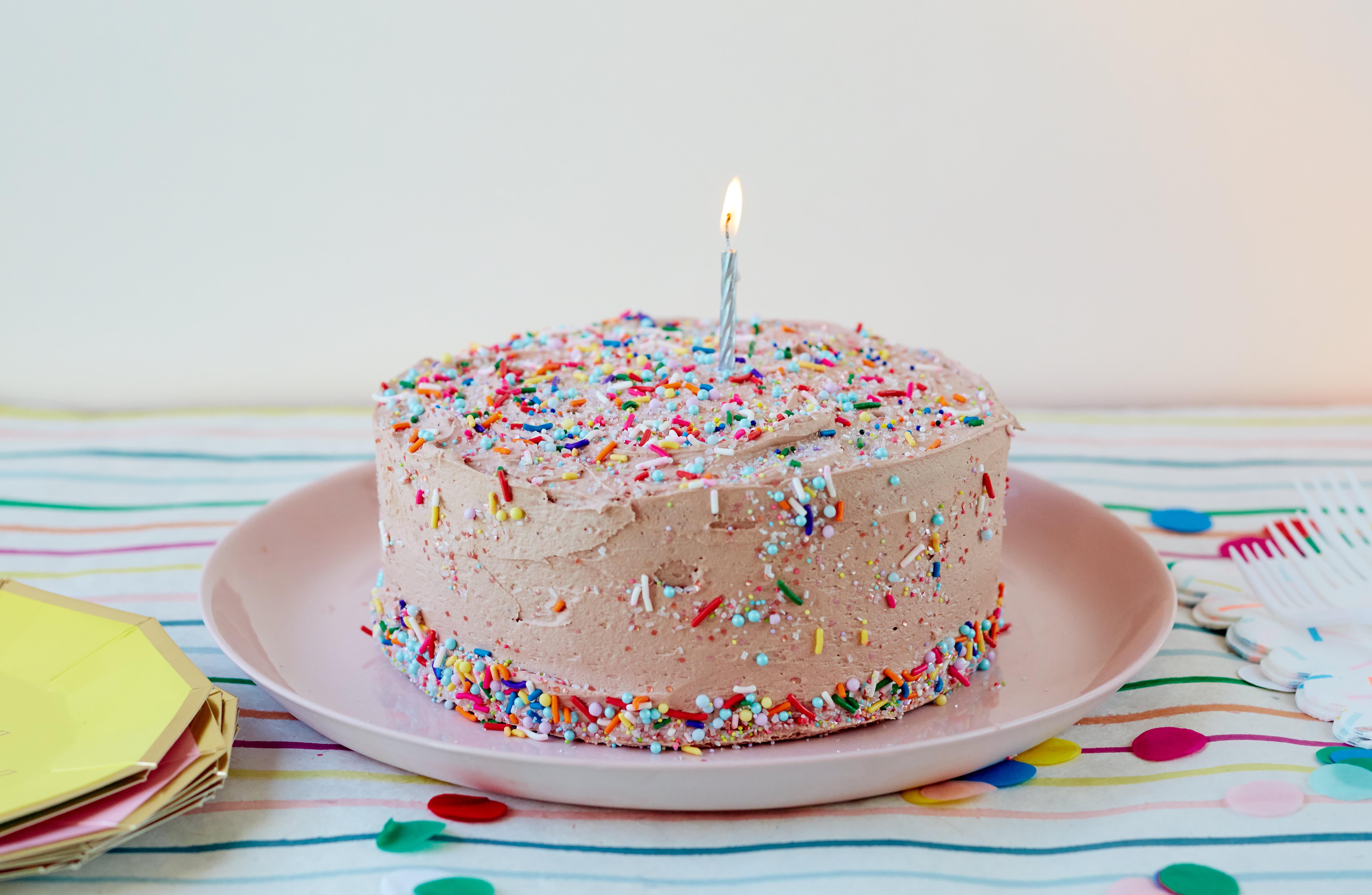 Surprising Recipe Review Classic Birthday Cake Kitchn Funny Birthday Cards Online Necthendildamsfinfo