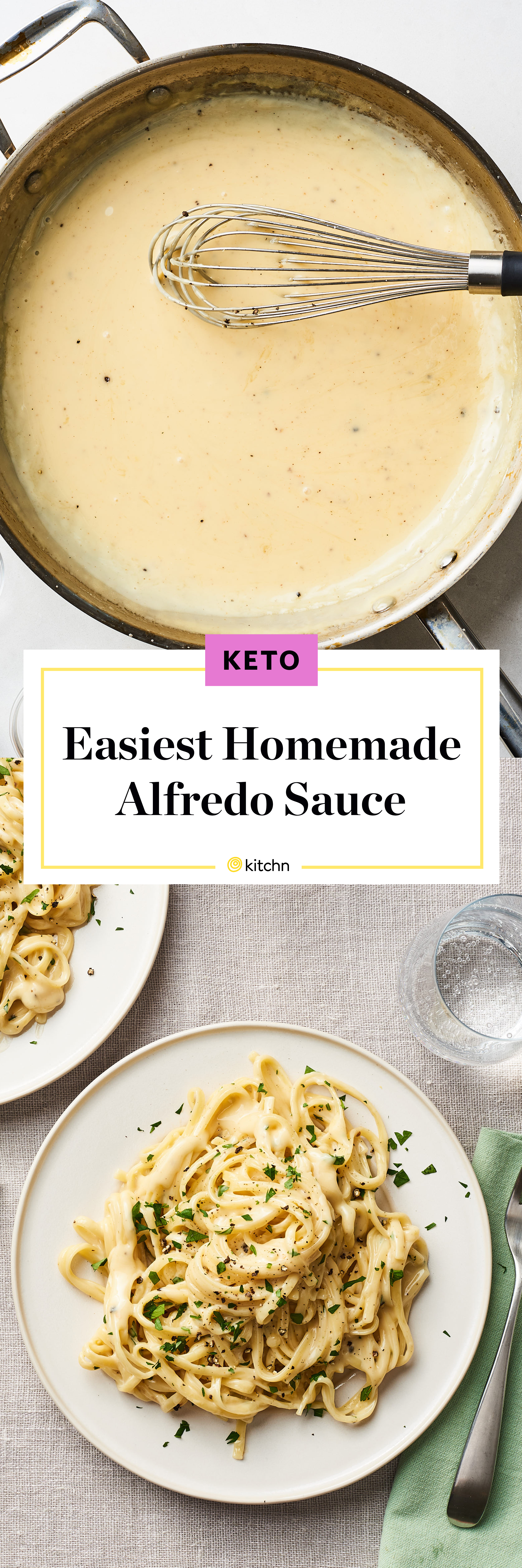 The Best Homemade Alfredo Sauce Kitchn